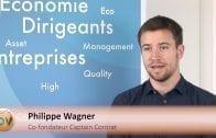 """Philippe Wagner Co-fondateur Captain Contrat : """"Simplifier la vie juridique des entreprises"""""""
