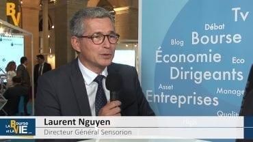Laurent Nguyen Directeur Général Sensorion : «Nous sommes à la pointe des sociétés qui vont pouvoir faire bouger les lignes dans ce secteur» : La Web TV au Midcap Event 2016 organisé par CF&B au Palais Brongniart