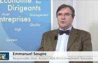 """Emmanuel Soupre Responsable Gestion Actions ABN Amro Investment Solutions : """"Tenir compte de la solidité intrinsèque des entreprises"""""""
