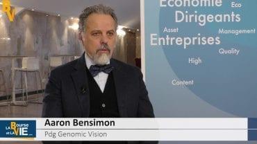 Aaron Bensimon Pdg Genomic Vision : «Des objectifs de vente ambitieux» : La Web Tv au Biomed Event 2017 organisé par CF&B Com