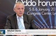 """Michel Denis Directeur Général Manitou : """"Nos marges s'améliorent régulièrement"""""""