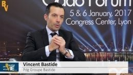 """Vincent Bastide Pdg Groupe Bastide : """"Nous allons réaliser de nouvelles acquisitions"""" : Rencontres avec les dirigeants au Oddo Forum de Lyon du 5 et 6 janvier 2017"""