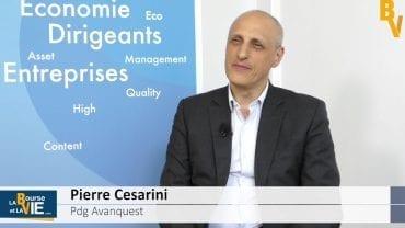 """Pierre Cesarini Pdg Avanquest : """"L'IoT sera le prochain relais de croissance d'Avanquest : Résultats semestriels 2016/2017 du groupe spécialisé dans la création digitale personnalisée et les objets connectés"""