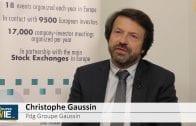 """Christophe Gaussin Pdg Groupe Gaussin : """"La priorité c'est de délivrer les stocks qui sont financés"""""""
