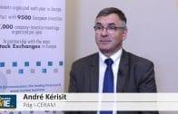 """André Kérisit Pdg I.CERAM : """"Plus on sera fort financièrement plus nos projets pourront aller vite"""""""