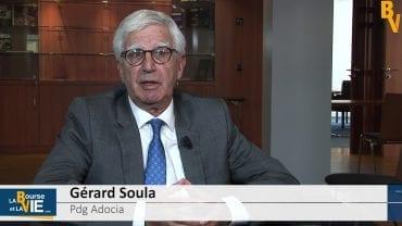 """Gérard Soula Pdg Adocia : """"L'année 2018 sera une année charnière pour nous"""" : Rencontre de dirigeants au Large & Midcap Event organisé par CF&B"""