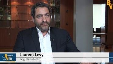 """Laurent Levy Pdg Nanobiotix : """"L'essai aux Etats-Unis pourrait changer la donne"""" : La société Nanobiotix est spécialisée dans la nanomédecine"""