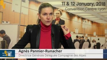 """Agnès Pannier-Runacher Directrice Générale Déléguée Compagnie des Alpes : """"Cette saison devrait se dérouler positivement"""" : La Compagnie des Alpes regroupe des activités de parcs de loisirs et domaines skiables"""