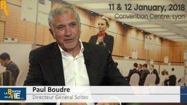 """Paul Boudre Directeur Général Soitec : """"Une croissance forte mais pérenne et profitable"""" : Soitec conçoit et produit des matériaux semi-conducteurs innovants"""