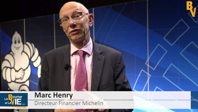 Marc Henry Directeur Financier Michelin est sur labourseetlavie.com