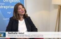 """Nathalie Jaoui Directrice Générale Déléguée Crit : """"D'ici trois ans doubler de taille en Europe"""""""
