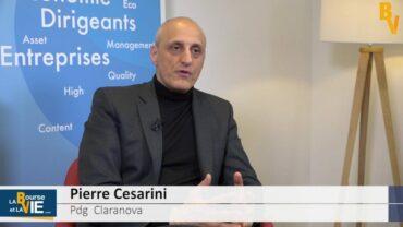 """Pierre Cesarini Pdg Claranova : """"Nous sommes assez unique en France"""" : Résultats semestriels 2017 du groupe de technologies"""
