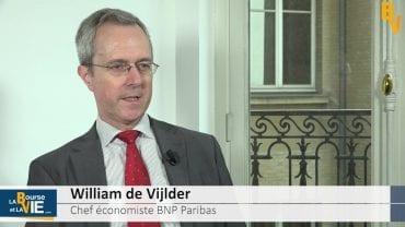 """William de Vijlder Chef économiste BNP Paribas : """"Certains indicateurs plafonnent"""" : Stratégie et perspectives économiques"""