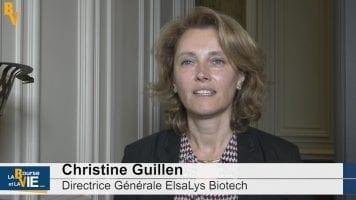 Christine Guillen Directrice Générale Elsalys : «Nous avons un produit proche de l'enregistrement»