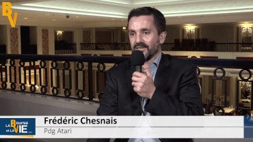 """Frédéric Chesnais Pdg Atari : """"Notre souhait est d'élargir la base d'investisseurs"""" : Stratégie du spécialiste des jeux vidéos"""