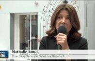 """Nathalie Jaoui Directrice Générale Déléguée Groupe Crit : """"C'est un secteur l'aéronautique qu'on aime bien"""""""