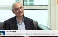 """François Lett Directeur du développement éthique et solidaire Ecofi Investissements : """"Le social c'est très important"""""""
