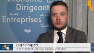 """Hugo Brugière Vice-Président Directeur Général Cybergun : """"Nous avons besoin de moyens financiers pour accélérer les projets de Cybergun"""" : La Web Tv a rencontré le dirigeant de Cybergun au coeur de l'actualité"""