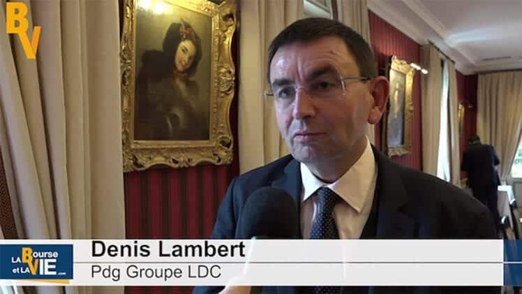 Denis Lambert Pdg Groupe LDC : «L'autre priorité clairement c'est le traiteur»