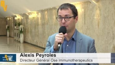 """Alexis Peyroles Directeur Général Ose Immunotherapeutics : """"Nous sommes dans l'exécution de notre portefeuille clinique"""" : La Web TVà la rencontre des dirigeants auBiomed Event 2020"""