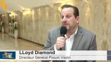 Lloyd Diamond Directeur Général Pixium Vision : «Commencer l'étude pivot» : La Web TVà la rencontre des dirigeants auBiomed Event 2020