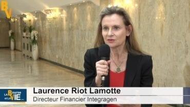 """Laurence Riot Lamotte Directeur Financier Integragen : """"Un développement de croissance rentable dans les prochains mois"""" : La Web TVà la rencontre des dirigeants auBiomed Event 2020"""