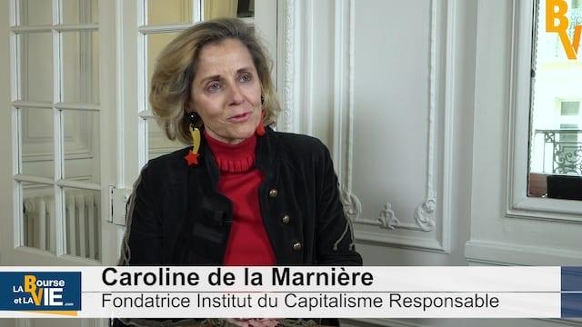 Caroline de La Marnière Fondatrice Institut du Capitalisme Responsable : «Davantage de pédagogie des entreprises»