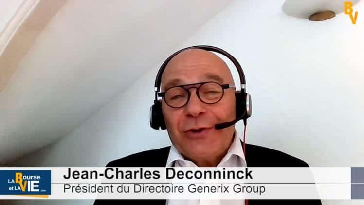"""Jean-Charles Deconninck Président du Directoire Generix Group : """"Nous avons des capacités pour investir"""""""