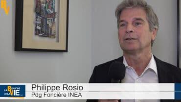 """Philippe Rosio Pdg Foncière INEA : """"Nous avons des immeubles neufs à taille humaine"""" : Immobilier d'entreprise après le confinement, regard sur ce marché par un spécialiste de l'immobilier neuf"""