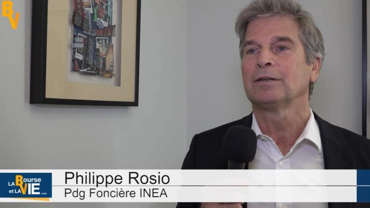 """Philippe Rosio Pdg Foncière INEA : """"Nous avons des immeubles neufs à taille humaine"""""""