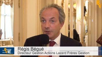 """Régis Bégué Directeur Gestion Actions Lazard Frères Gestion : """"La survalorisation d'aujourd'hui est moins excessive que celle de l'an 2000"""""""