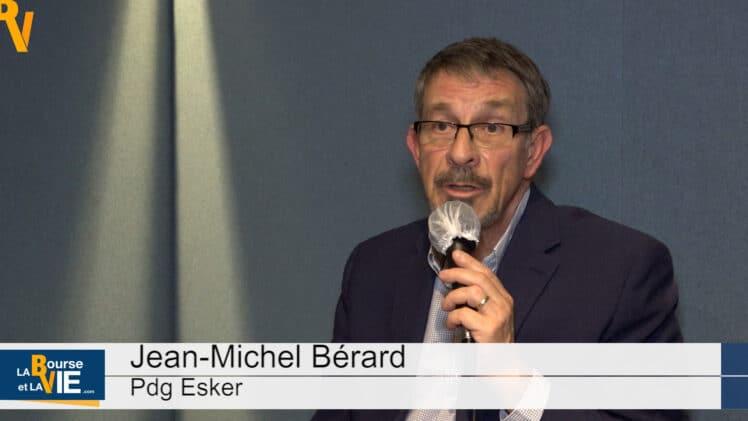 """Jean-Michel Bérard Pdg Esker : """"S'automatiser, une question de survie pour beaucoup d'entreprises"""""""