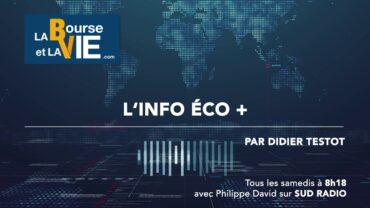 Didier Testot fondateur de LA BOURSE ET LA VIE TV dans l'Info éco + sur Sud Radio (émission du 12 décembre 2020) : Retour sur un anniversaire spécial 31 ans à suivre la Bourse et les entreprises