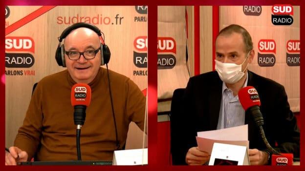 Didier Testot Fondateur de LA BOURSE ET LA VIE TV, Sud Radio avec Philippe David 23 janvier 2021