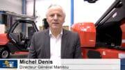 """Michel Denis Directeur Général Manitou : """"Nous serons au rendez-vous"""" : 24ème édition ODDO BHF Digital Forum"""