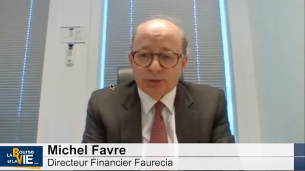 Michel Favre Directeur Financier Faurecia (Tous droits réservés 2021)