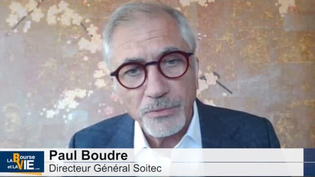 Paul Boudre Pdg Soitec (Tous droits réservés 2021 www.labourseetavie.com)