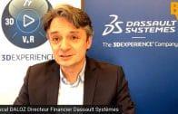 """Pascal Daloz Directeur Financier Dassault Systèmes : """"Concentrés en termes de progression sur la deuxième partie de l'année"""