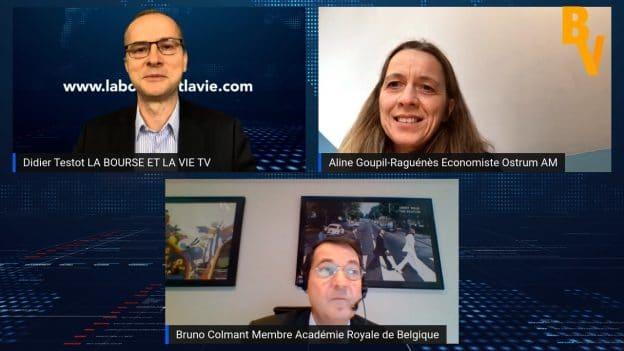 Dans cette nouvelle émission Didier Testot le Fondateur de LA BOURSE ET LA VIE TV reçoit Aline Goupil-Laguénès Economiste chez Ostrum AM et Bruno Colmant Membre de l'Académie Royale Belge pour parler de l'évolution de nos économies en temps de Covid-19