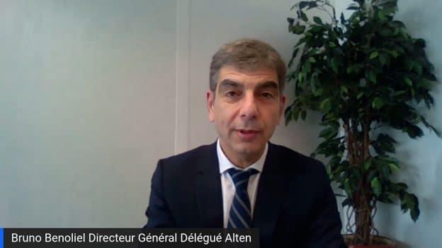 Bruno Benoliel Directeur Général Délégué Alten (Tous droits réservés 2021 www.labourseetlavie.com)