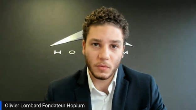 Olivier Lombard Fondateur Hopium (Tous droits réservés 2021 www.labourseetlavie.com)