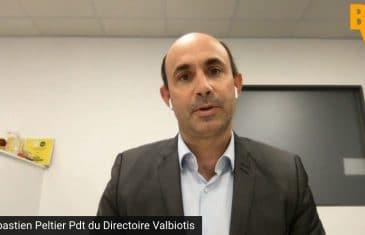 Sébastien Peltier Président du Directoire Valbiotis (Tous droits réservés 2021 www.labourseetlavie.com)