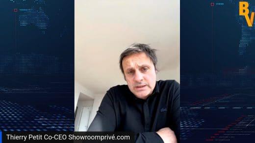 Interview Thierry Petit Co-CEO Showroomprive.com (Tous droits réservés 2021)