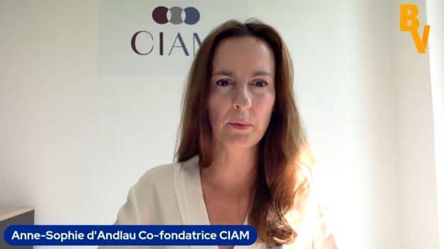 """Anne-Sophie d'Andlau Co-fondatrice CIAM : """"Un nouveau souffle est nécessaire pour redresser Scor""""."""