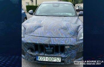 Maserati Grecale (Scoop LA BOURSE ET LA VIE TV)
