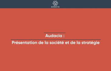 Introduction en Bourse Audacia (tous droits réservés 2021 www.labourseetlavie.com)