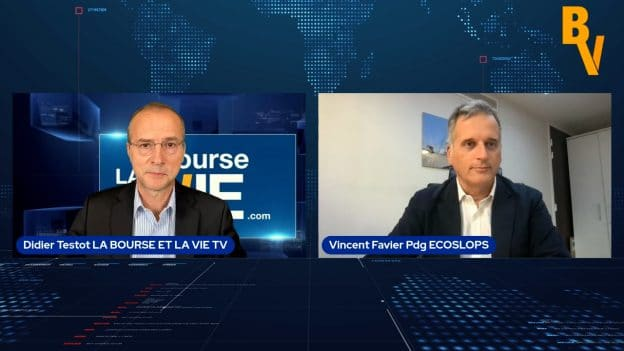 Vincent Favier Pdg Ecoslops (Tous droits réservés 2021 www.labourseetlavie.com)