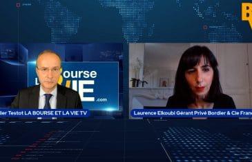 """Laurence Elkoubi Directeur de Clientèle Privée chez Bordier & Cie France : """"Nous avons surpondéré notre poche de liquidités"""". Tous droits réservés 2021"""